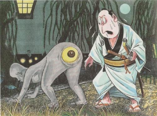 Sinh vật huyền bí ám ảnh cuộc sống người Nhật Bản