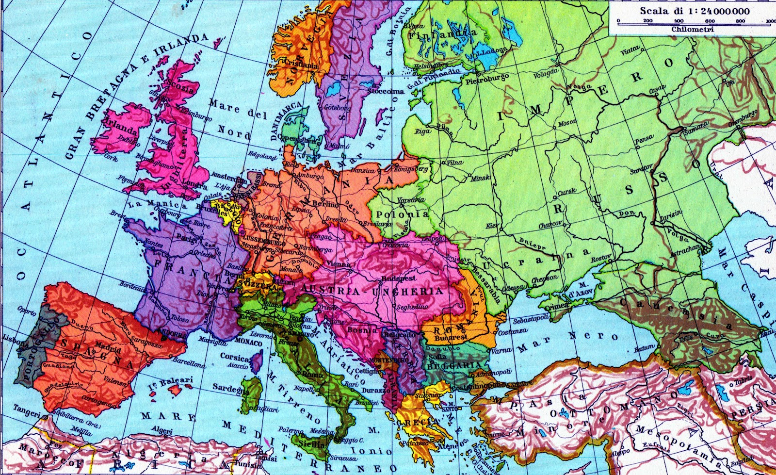 Cartina Europa Economica.Economia Economia Politica 1 Nel Mondo Occidentale Dal 1900 Al