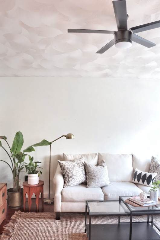 FEARFULLY & WONDERFULLY MADE: 10 Sleek and Stylish Lighted Ceiling Fans under $200 (and our new living room fan)
