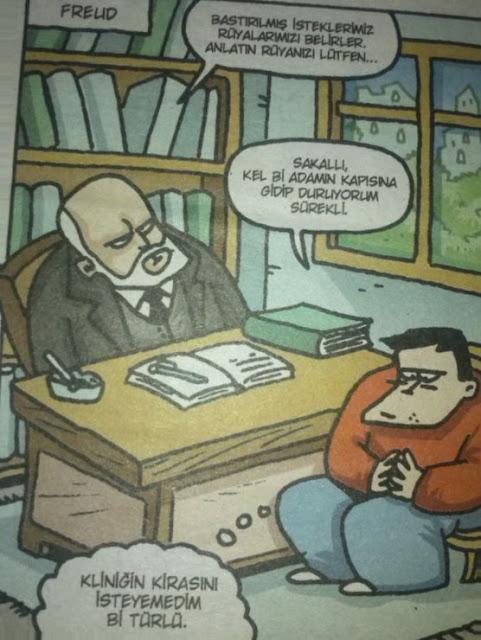 sigmund freud karikatürü