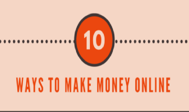 10 Ways To Make Extra Money Online #infographic