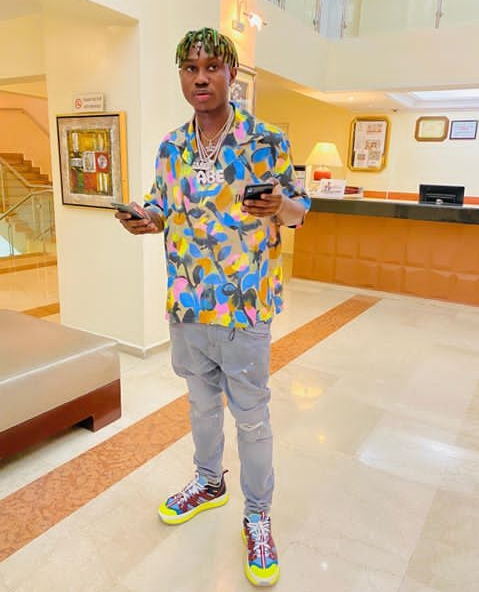 The rapper is a brand ambassador for Coca-Cola and the signing was announced on September 2019. He also bagged another endorsement deal with lotto9ja