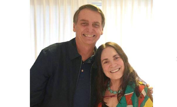 Atriz consagrada na Globo é convidada para Secretaria da Cultura por Bolsonaro