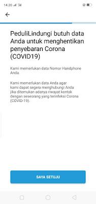 Cara Install dan Penggunaan Aplikasi  Nasional Tracing Covid-19 Dilengkapi Gambar