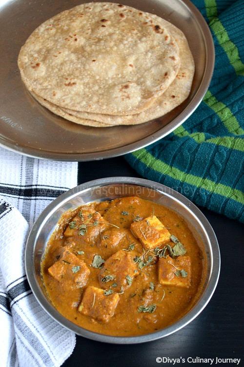butter masala recipe