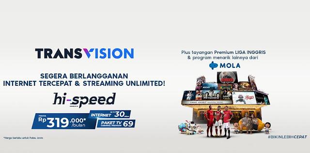 Harga Paket Euro Transvision Hi-Speed