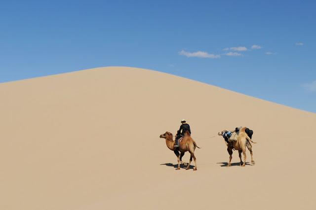 Foto Gurun Gobi di Mongolia