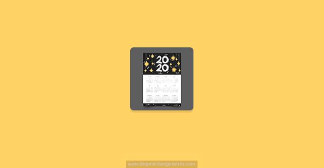 Calendario anual 2020 gratis
