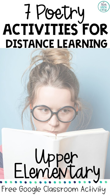 poetry at home distance and digital learning Google Classroom