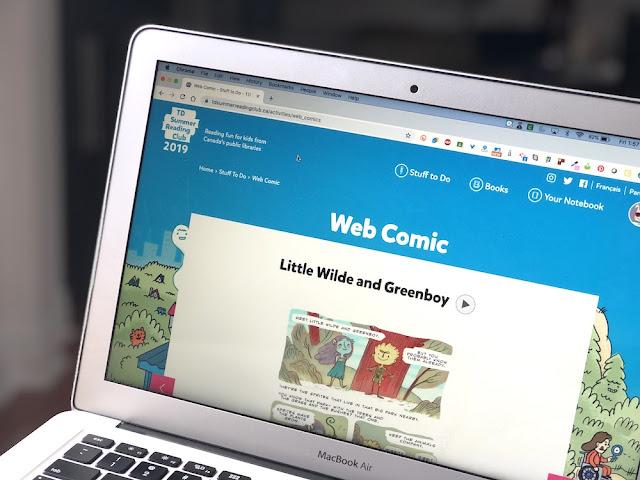 TD Summer Reading Club - Webcomic