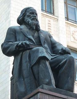 Mendeleev statue