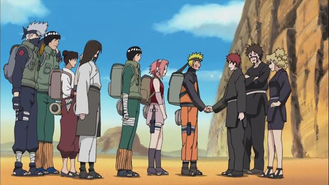 Naruto: Shippuden Season 1, Misi Penyelamatan Gaara