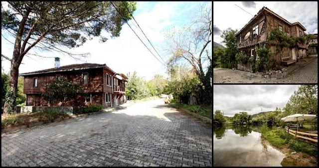 Asırlık evleriyle yeşiller köyü: Gökmaslı