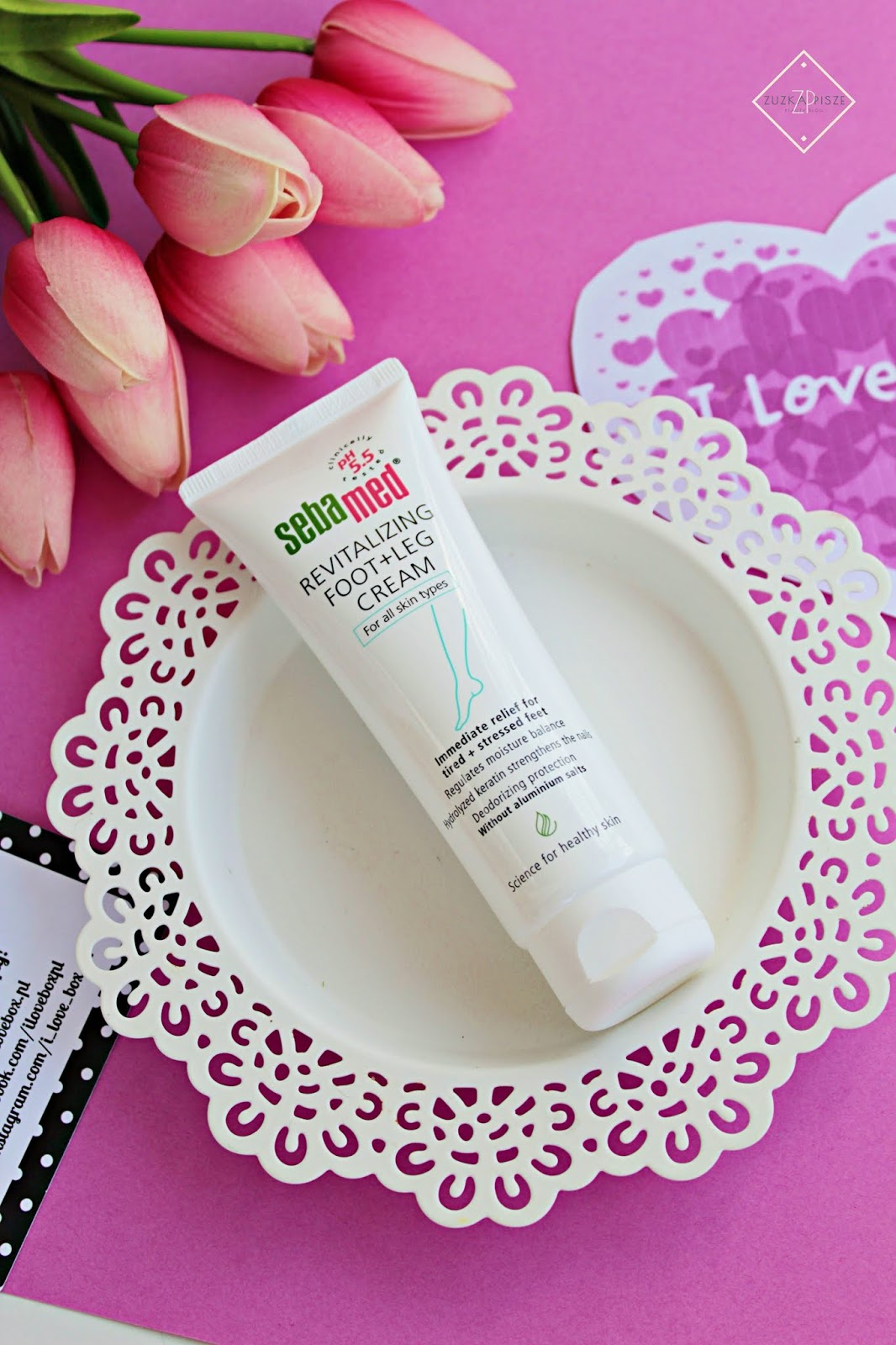 SEBAMED Revitalizing Foot + Leg Cream