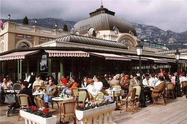 Restaurante Café de Paris em Mônaco