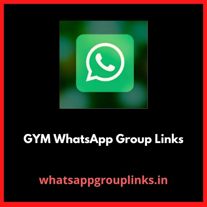Join GYM Whatsapp Group Links