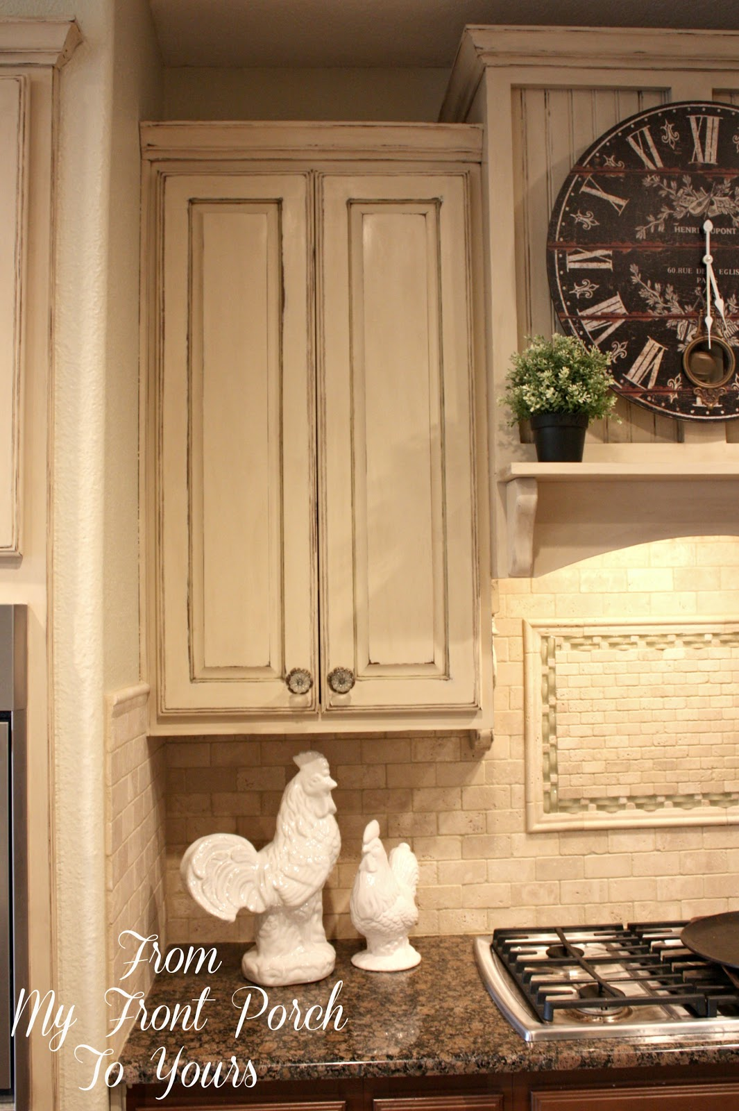 From My Front Porch To Yours: Kitchen Cabinet Painting ...