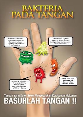 Image result for tapak tangan bakteria