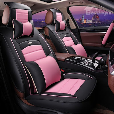 Beddinginn pink car seat covers