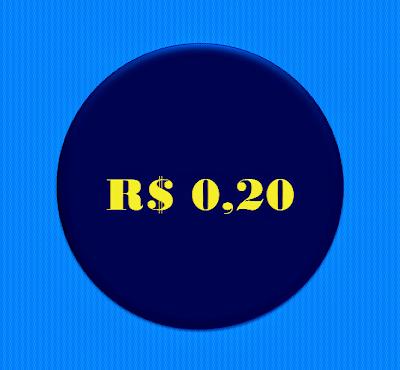 A imagem  mostra os R$ 0,20 centavos de 2013 que fez história do golpistas em 2016 até os dias atuais.