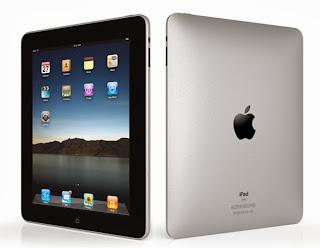 """Apple iPad Air tablet. Características 3G, 4G, 9.7"""" con retroiluminación LED de pantalla IPS LCD, cámara de 5 MP, Wi-Fi, GPS, Bluetooth"""