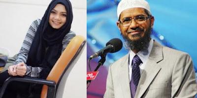 Video Ceramah Dr Zakir Naik Menjadi Jalan Hidayah Rina Nose Berhijab