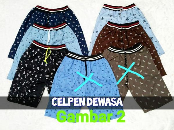 Celana Pendek Cowok Dewasa AC-098