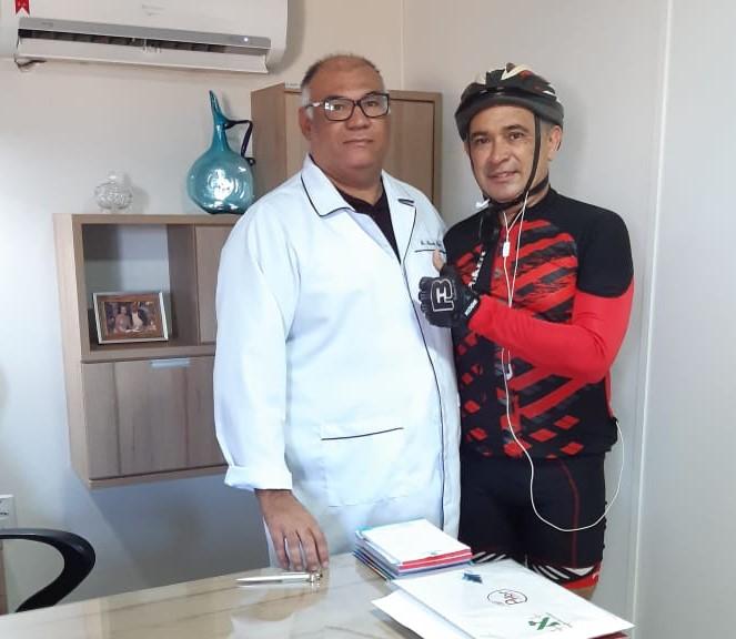 Fisioterapeuta alerta para lesões provocadas durante atividade do ciclismo.