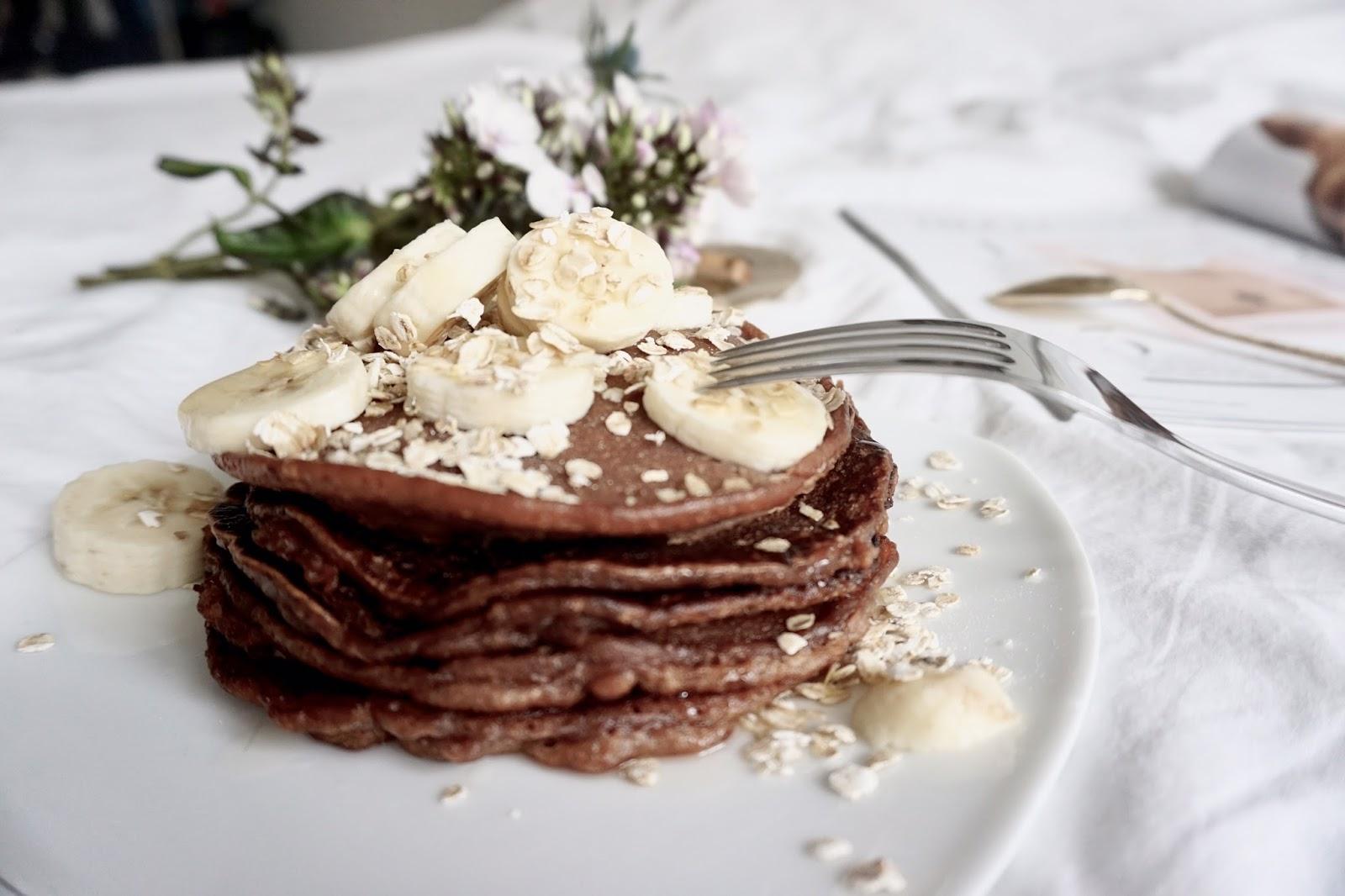 Schokoladen Cookie Pancake Rezept