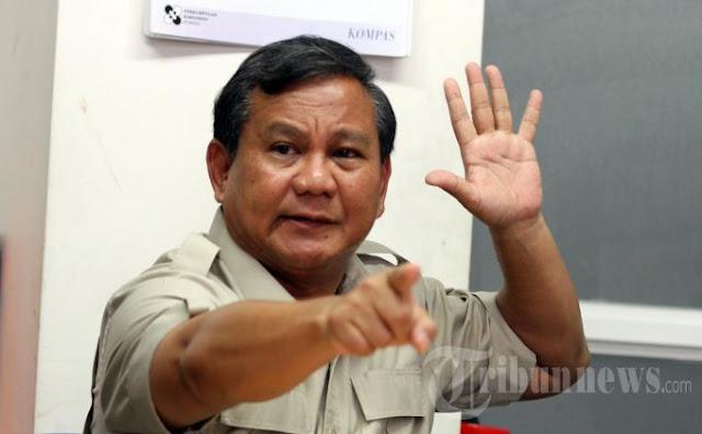 Prabowo: Saya Ingatkan, Dulu Saya yang Bawa Ahok ke Jakarta
