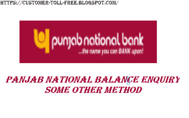 Pnb Bank Account Balance Check Missed Call Number