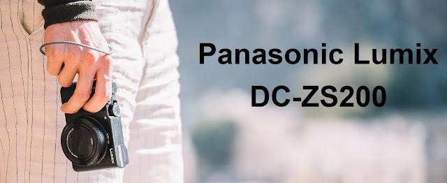 Panasonic Lumix DC-ZS200 - Lumix DC-TZ200