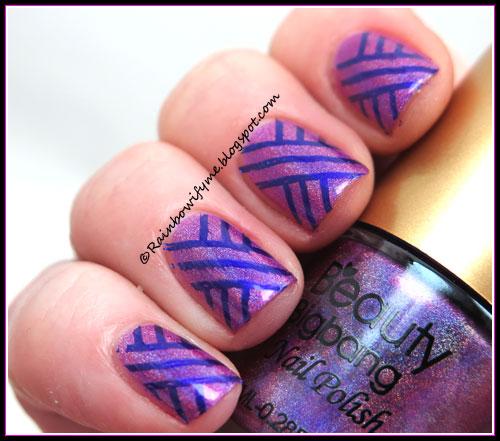 Beauty Big Bang ~ Holographic nail polish #02