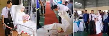 Unik Banget! Pasangan Pengantin ini Gunakan Jasa Ambulans di Pesta Pernikahan Mereka