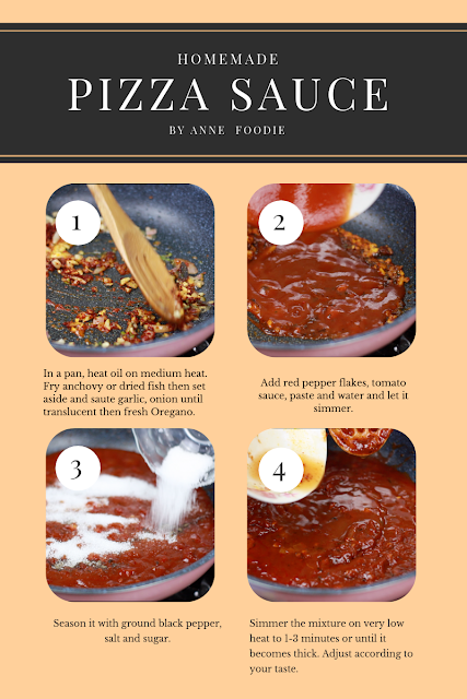 Here is how to make your own Pizza sauce at home step by step.