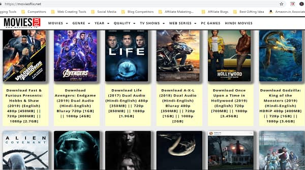 blue ray movies download