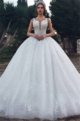 https://www.newarrivaldress.com/g/unique-straps-sleeveless-lace-appliques-v-neck-rhinestones-ball-gown-wedding-dresses-112456.html?cate_2=77?utm_source=blog&utm_medium=teresa&utm_campaign=post&source=teresa