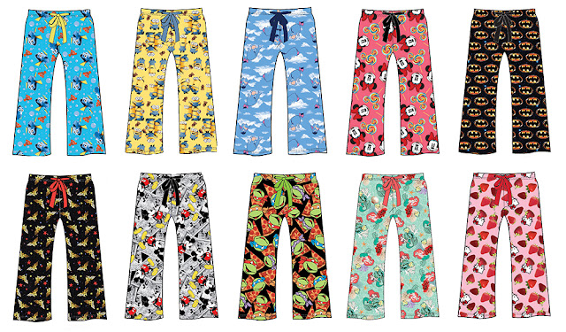 Summer character sleep pants giveaway