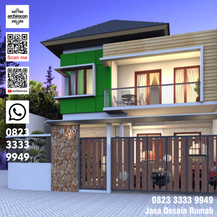 Jasa Desain Rumah Minimalis Malang 2020