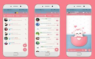 Cat Cute Theme For YOWhatsApp & Fouad WhatsApp By Leidiane