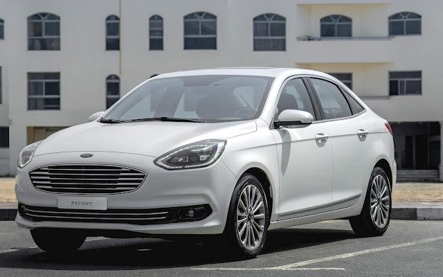 Novo Ford Escort 2020 chega ao Oriente Médio com facelift