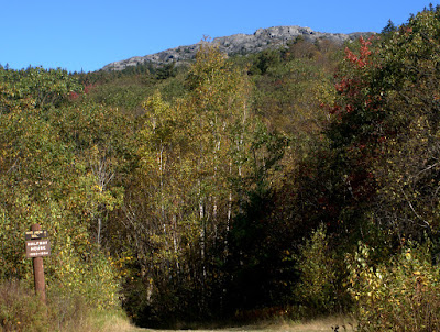 View of the top of Monadnock as seen from the Half-Way House site