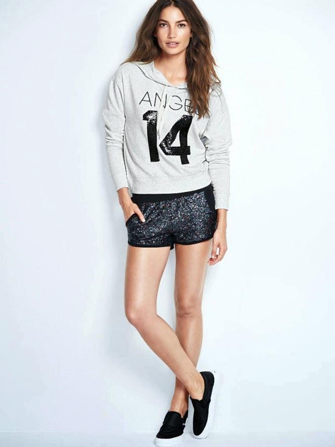 63ceff25e1 Lily Aldridge is seductive for the 2014 Victoria s Secret Lookbook
