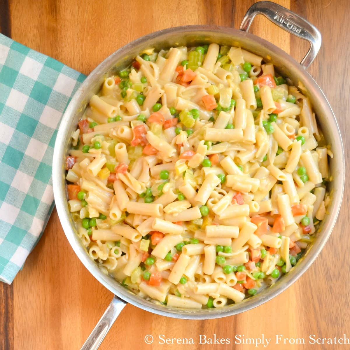 Homemade Cheese Tuna Helper Recipe with a gluten free option is easy to make.