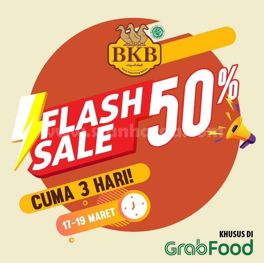 Bebek BKB Promo Flash Sale Diskon 50% All Menu - Khusus Pemesanan via Grabfood