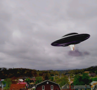 UFO captured on video by drone over Johnstown Pennsylvania