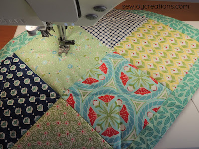 Dine In placemats newsletter freebie Sew Joy Creations