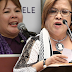 Sandra Cam vs. De Lima: Wag mo akong sisigaw-sigawan dahil this is the time for me na sagutin ka harapan