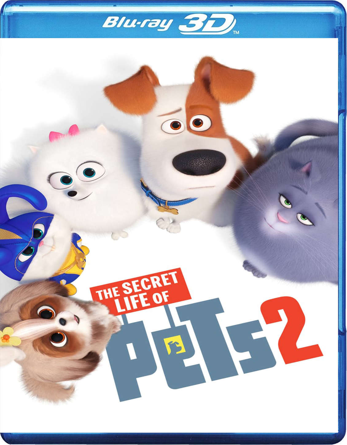 The Secret Life of Pets 2 [2019] [BD50] [Latino] [3D]