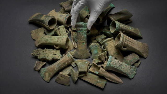 Hallan extraordinario tesoro de hace 3 mil años en Londres